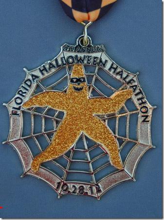 halloween half 2012 medal